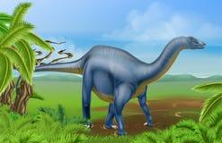 Diplodocus dinosaur Stock Images