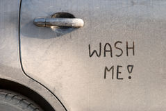 Dirty car Stock Photography