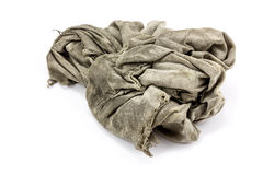 Dirty rag Royalty Free Stock Photography