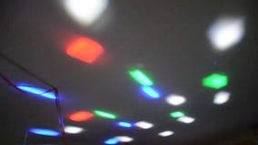 Disco lighting stock video