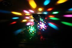 Disco Lights Stock Photo