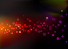 Disco lights dots Royalty Free Stock Image
