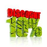 10% discount icon Stock Photo