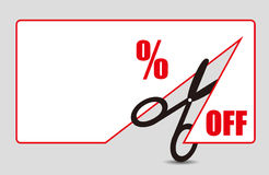Discount Price Tag Stock Photography