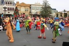 Disney's Christmas Parade Royalty Free Stock Photos