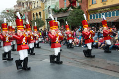 Disney World Toy Soldiers Parade Royalty Free Stock Image