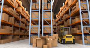 Distribution warehouse Stock Image