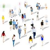 Diverse Diversity Ethnic Ethnicity Togetherness Variation Crowd Stock Image