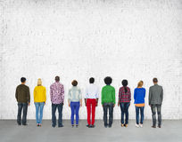 Diverse Diversity Ethnic Ethnicity Unity Variation Concept Stock Image