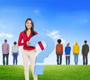 Diverse Diversity Ethnic Ethnicity Variation Unity Togetherness Stock Photo