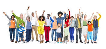 Diversity Ethnicity Multi-Ethnic Variation Togetherness Concept Royalty Free Stock Photography