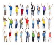 Diversity Ethnicity Multi-Ethnic Variation Togetherness Unity Te Stock Image