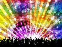 DJ disco party night Royalty Free Stock Photos