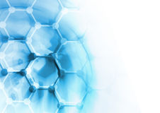DNA molecule structure background Stock Photography