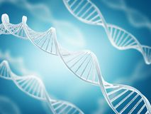 DNA structure Stock Image