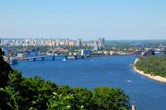 Dnieper River, Kiev Ukraine Stock Photo