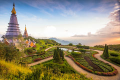 Doi Inthanon, MAI Chiang, Noordelijk van Thailand Royalty-vrije Stock Afbeelding