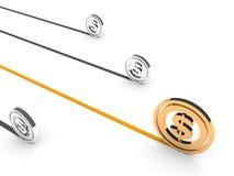 Dollar symbol Stock Image