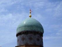 Dome of madrasah Kukeldash Stock Photo