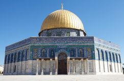 Dome of the Rock Royalty Free Stock Images
