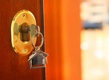 Door key Stock Photography