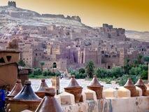 Dorp in Marokko Royalty-vrije Stock Foto