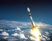 Drager Rocket Take Off Stock Fotografie