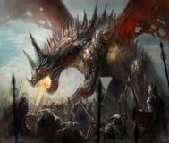 Dragon hunt Royalty Free Stock Photos