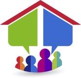 Dream home logo Royalty Free Stock Photo