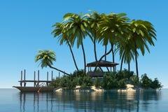 Dream island Stock Images