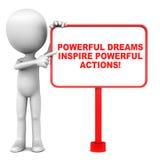 Dream power Stock Image