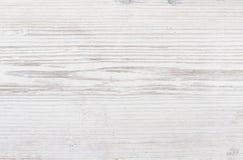 Drewniana tekstura, biały drewniany tło Fotografia Stock