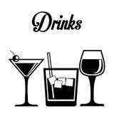 Drink design Royalty Free Stock Photo