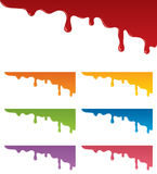 Dripping Paint Royalty Free Stock Photography