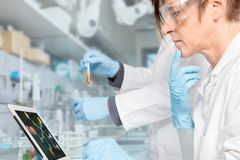 Drug Research Royalty Free Stock Photography