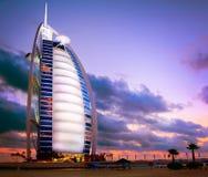 Dubai. Burj Al Arab hotel Stock Photography