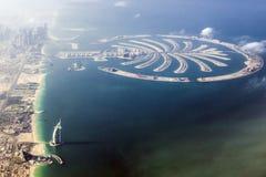 Dubai Burj al Arab and the Palm Royalty Free Stock Photos