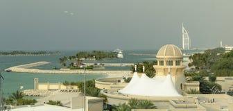 Dubai harbor Royalty Free Stock Photos