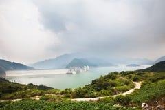 Dujiangyan Reservoir Stock Images