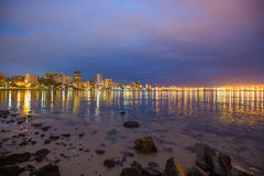 Durban Cityscape South Africa Royalty Free Stock Images