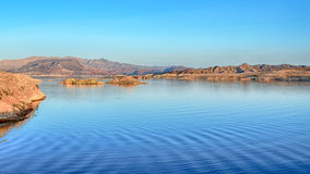 Dusk, Sunset View Overlook, Lake Mead National Recreation Area, NV Stock Photo