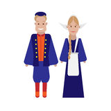 Dutch national costume Stock Image