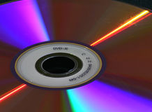 DVD lights Stock Photography