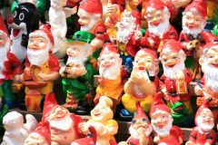 Dwarves gypsum Stock Image