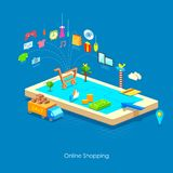 E commerce concept Royalty Free Stock Images