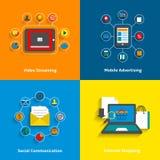 E-commerce icons set Stock Photo
