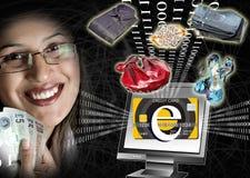 E-commerce power Stock Photos