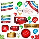 E-commerce signs Stock Photo