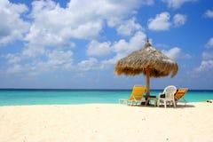 Eagle beach aruba Stock Photos