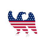 Eagle Symbol National pride America for Independence Day 4th Stock Photo
